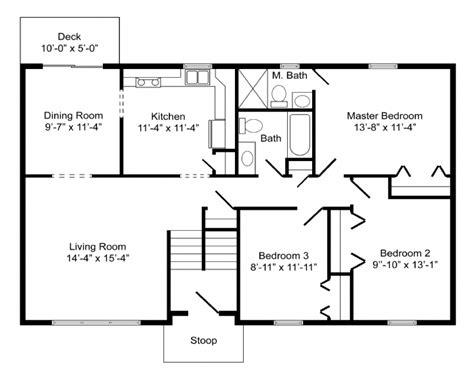 bi level home plans high quality basic home plans 8 bi level home floor plans