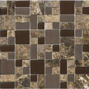 stone blend glass mosaic tile kitchen backsplash bath 8mm