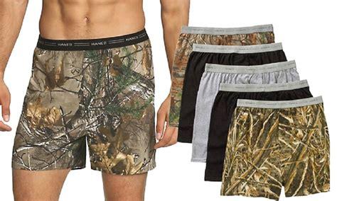 Hanes Men's Knit Boxers (10pk)