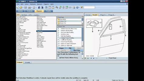 auto body estimating software mitchell estimating