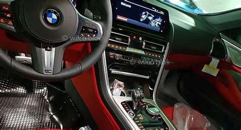 2019 bmw 8 series interior bmw 8 series convertible leaks its interior on social