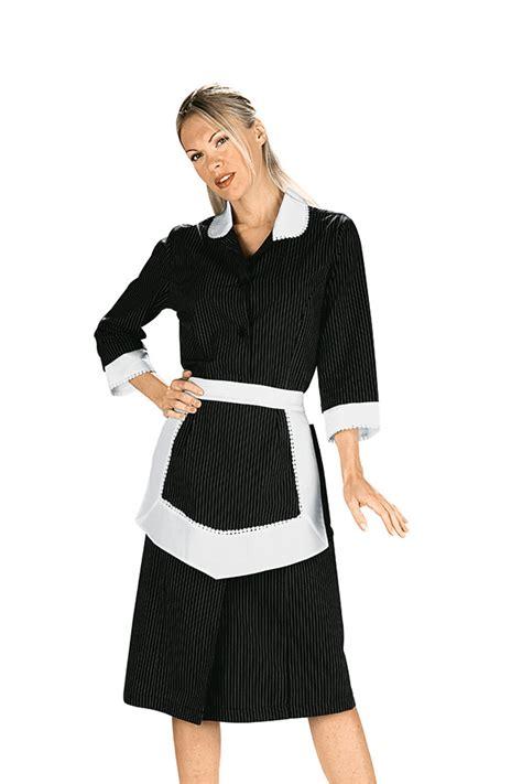 tablier femme de chambre blouse femme de chambre et tablier noir et blanc 100 coton