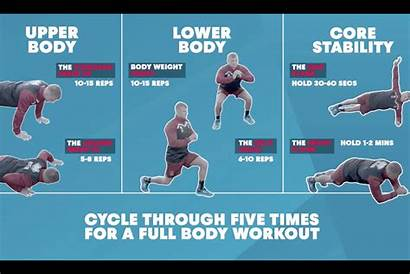 Rugby Training Bodyweight Workout Exercises