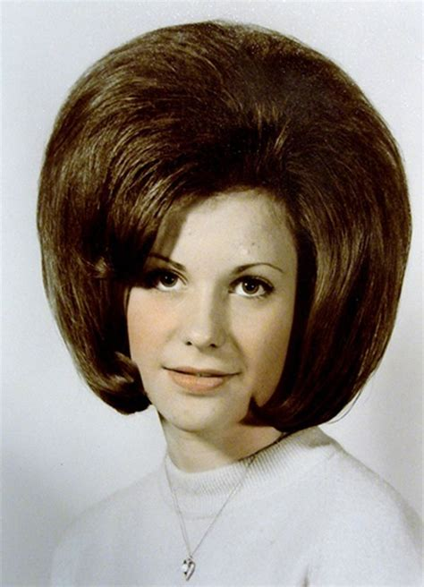 Popular Hairstyles In The 60s by The 1960 Bouffant Hairstyle Was Made Popular By Jackie
