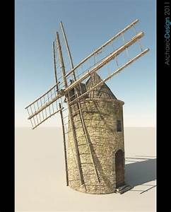 Medieval Windmill – Rich Potter