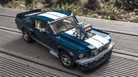 lego ford mustang gallery all the cool details of the lego ford mustang gt