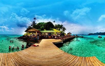 Colombia Andres San Island Summer Caribbean Sea