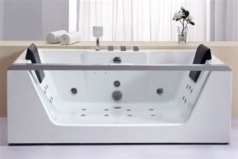Acrylic Freestanding Bathtubs by Eago Am196ho Rectangular Whirlpool Bath Tub Free Standing
