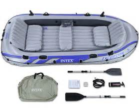 intex excursion 5 raft set five person up boat