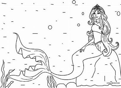 Coloring Pages Mermaid Hairstyles Dresses Costumes Diy