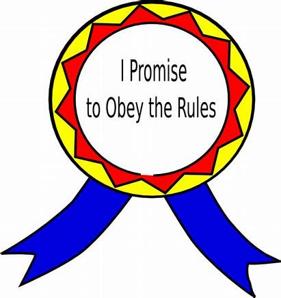Obey Rules Clip Rule Clipart Law Badge