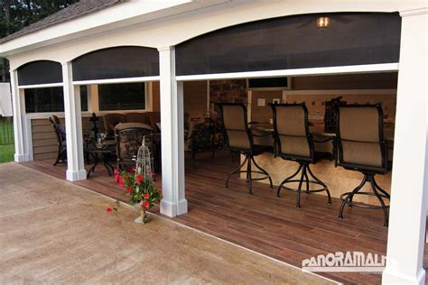 Outdoor Lanai by Retractable Screens For Patio Lanai Stoett Industries