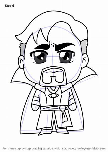 Strange Dr Step Kawaii Drawing Draw Characters