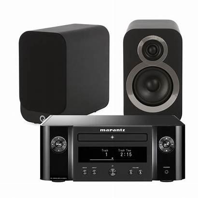 Melody Marantz System Bookshelf Acoustics Speakers 3010i