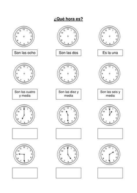 mi horario  mmullen teaching resources tes