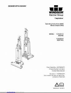 Windsor Sensor Vacuum Xp18