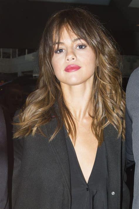 Best 25 Selena Gomez Bangs Ideas On Pinterest Selena