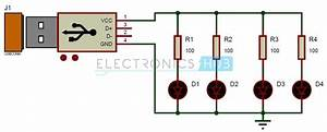 Usb Led Lamp Circuit