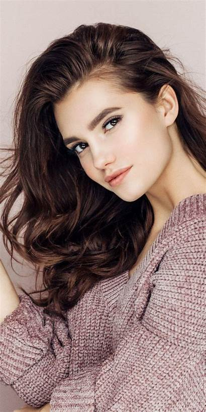 Hair Pretty Curly Wallpapers Brunette Models Hairstyles