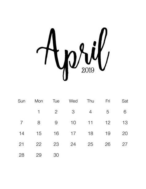 fabulous   printable  minimalistic calendar