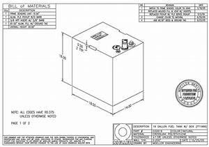 Moeller 19 Gal  Below Deck Fuel Tank   032619