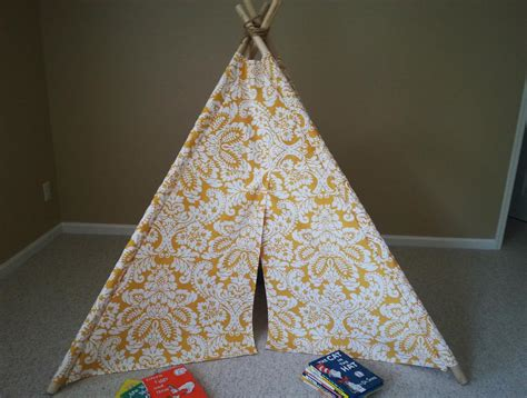 Diy Kids Teepee Tent Tutorial