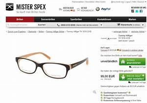 Mister Spex Rechnung : mister spex markenbrillen online kaufen my ~ Themetempest.com Abrechnung