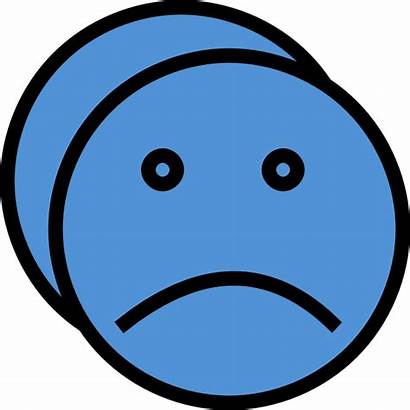 Sad Face Clip Clipart Crying Cartoon Disappointed