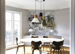 Décoration Appartement Moderne : d coration appartement haussmannien moderne cx72 jornalagora ~ Nature-et-papiers.com Idées de Décoration