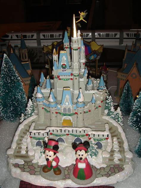 disney christmas village cinderellas castle  list