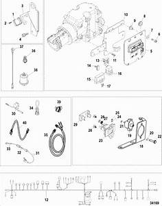 Mercruiser 383 Mag Stroker Electrical Components Parts