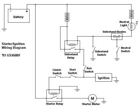 Ignition Starter Switch Wiring Diagram by Starter Ignition Wiring