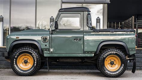 custom land rover land rover defender pick up gets customized by kahn design