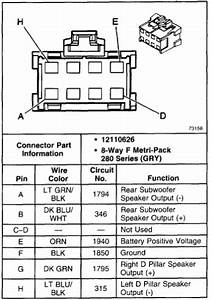 2000 Chevy Tahoe Factory Radio Wiring Diagram