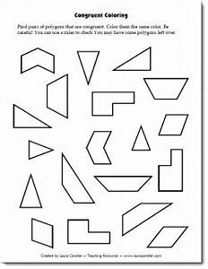 Congruent Coloring Freebie - Students have to find pairs