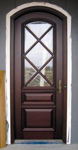 custom wood doors divided lite doors  design daphne