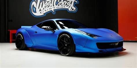 According to autoevolution, he attended the grand opening of their burbank facilities in. Update (Sold): Justin Bieber's Liberty Walk Ferrari 458 Up for Auction