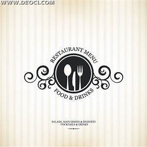 Simple vector the Western restaurant menu recipes cover ...