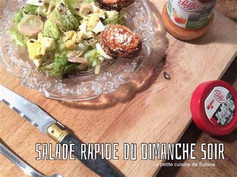 cuisine du soir recettes de salade rapide