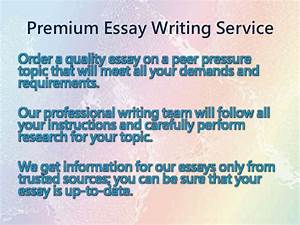 Sample High School Essay Essay On Peer Pressure And Its Effects Education Conclusion Essay Argumentative Essay Topics For High School also Essay Paper Writing Essay On Peer Pressure Essay Sustainable Development Essay About  Proposal Essay Topic List