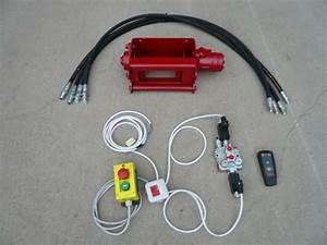 Distributeur Hydraulique Commande Electrique : treuil hydraulique radio commande fendeuse mat riel forestier hydraulique cms kit fendeuse ~ Medecine-chirurgie-esthetiques.com Avis de Voitures