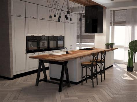 plan de cuisine bois plan de travail de cuisine 40 designs guide complet