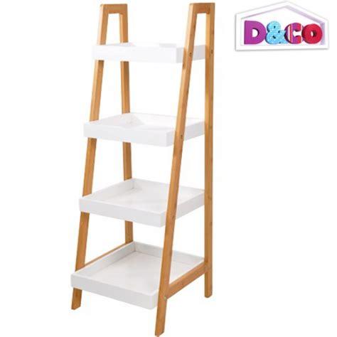 201 tag 232 re bambou meuble de rangement inclin 233 4 niveaux salle de bain d co magasin insolite