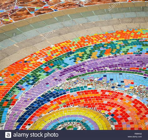 Colorful Floor Tile by Mosaic Background Ceramic Tiles Colorful Rainbow