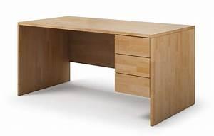 Schreibtisch Nach Maß : kasan aus buche schreibtisch nach ma ~ Frokenaadalensverden.com Haus und Dekorationen
