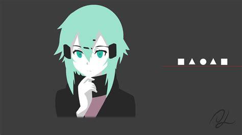 Minimalist anime wallpapers 79 images source : Minimalist Sinon - Weekly Sinon LVIII 4k Wallpaper : swordartonline