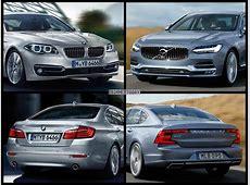 BildVergleich Volvo S90 2016 gegen BMW 5er F10 LCI