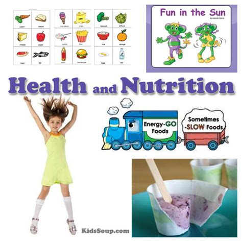in the sun health and nutrition preschool activities 217 | Health Nutrition Activities KS