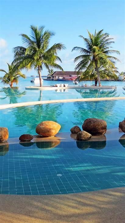 Maldives Iphone Pool Resort Holiday Palm Inn
