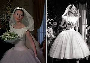 8 beautiful movie wedding dresses With funny face wedding dress
